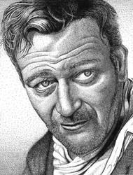 John Wayne by ronmonroe
