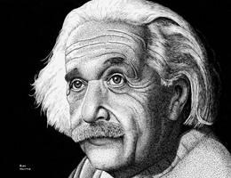Albert Einstein by ronmonroe