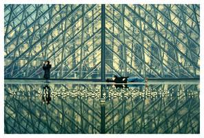 Endless geometry by Kafein