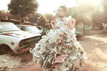 Recycle Couture 1 by lalisa-doniho