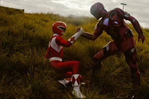 Power Rangers Team Up! by keikasagawa