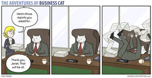 The Adventures of Business Cat - Reports by tomfonder