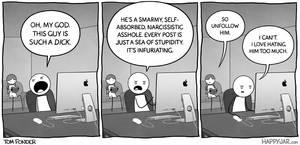 Happy Jar - Hate-Reading by tomfonder