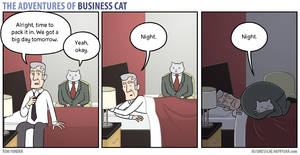 The Adventures of Business Cat - Boundaries by tomfonder