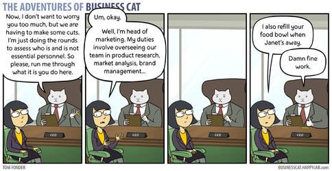 The Adventures of Business Cat - Job Description by tomfonder