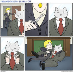 The Adventures of Business Cat - Trim by tomfonder