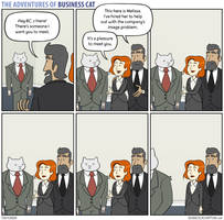 The Adventures of Business Cat - Snub by tomfonder