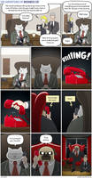 The Adventures of Business Cat - Telephone by tomfonder