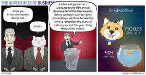 The Adventures of Business Cat - Memoriam by tomfonder