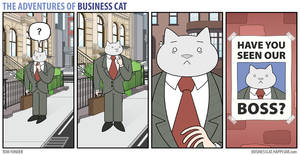 The Adventures of Business Cat - Lost by tomfonder
