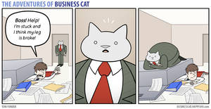 The Adventures of Business Cat - Emergency by tomfonder