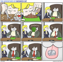 The Adventures of Business Cat - Trial and Error by tomfonder