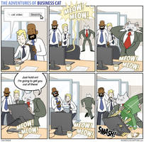 The Adventures of Business Cat - Rescue by tomfonder