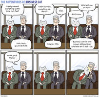 The Adventures of Business Cat - Tete a Tete by tomfonder