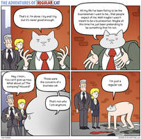The Adventures of Regular Cat - Defeat by tomfonder