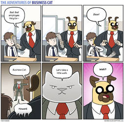 The Adventures of Business Cat - Prodigal Son by tomfonder