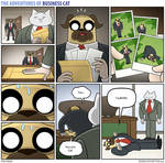 The Adventures of Business Cat - Submission by tomfonder