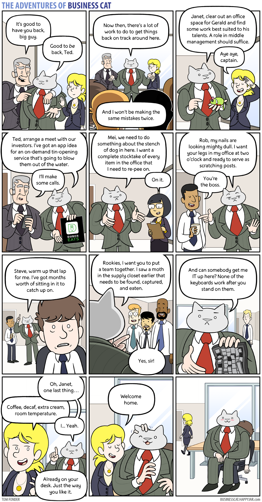 The Adventures of Business Cat - Business by tomfonder