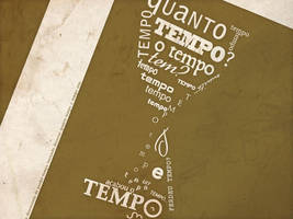 Tempo... tipografia by JohwMatos