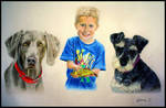 A Boy and his Friends by Bonniemarie