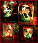 Gone With The Wind Candle Holder by Bonniemarie