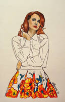 Lana Del Rey by Bonniemarie