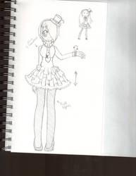 dress design by Moniquekat