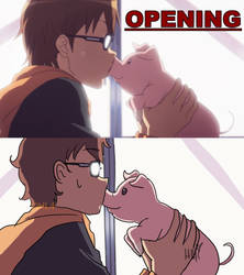 redraw: silver spoon - kiss you! by HarumiLove4