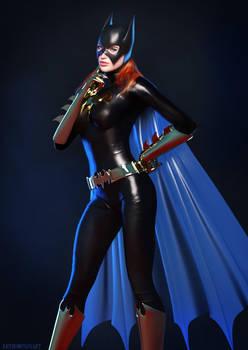 Classic Batgirl by KRTArt