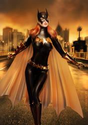 Batgirl by KRTArt