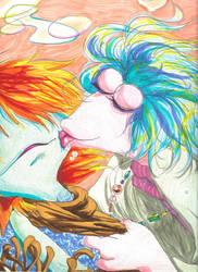 Boober and Mokey - Germaphobia by Plaid-F