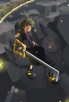 Fanart: Sora (Kingdom Hearts) by BraveryPixel