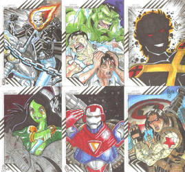Cards Marvel Fleer Retro 11 by The-Satsui