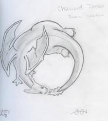 Charizard Tattoo by AsterRidge