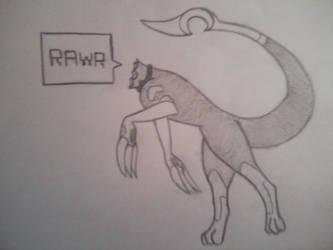 Oji rawr by AsterRidge