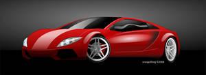 Vector Car Rendering by orange3king