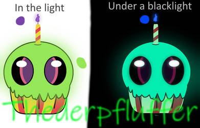 Fnaf blacklight oc by Thederpfluffer