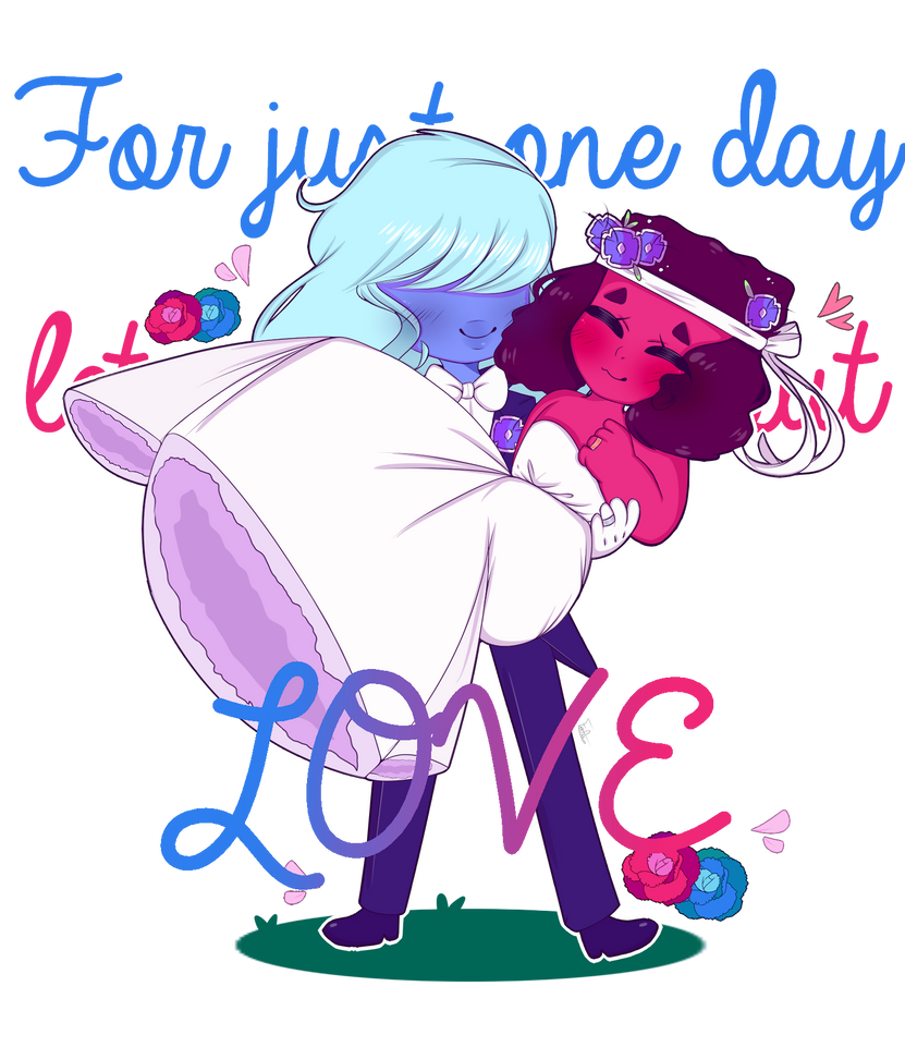 For Just One Day Lets Only Think About Love By Fafameow On Deviantart