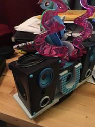 DJ-PON3 bluetooth speaker 50% done by DustyPony