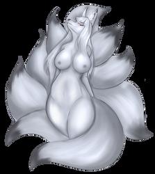 A  Silver Regal Fur by Luxianne