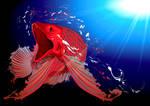 dragon fish by fiboy