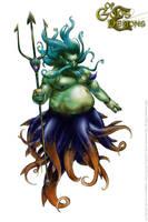 Poseidon: Atlantean Overlord by chesterocampo