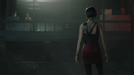 RE 2 Remake Ada Wong 7 by xGamergreaserx