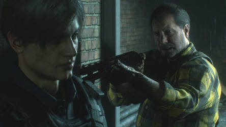 RE 2 Remake Robert Kendo Screenshot by xGamergreaserx