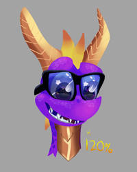 120% by Purple-Lives-Matter