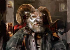 Regal Ram2 by wiloberdier