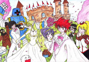 The Wedding :3 by AsukaShin10