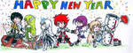 Happy New Year 2014 from Elsword Indonesia by AsukaShin10