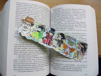 Bookmark Johnny Depp - sold by edzik