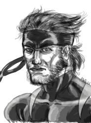 Metal Gear Adamantium by JerryLSchick